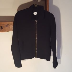 Margaret O 'Leary Black Cardigan. Size:2